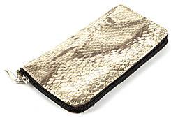 Удобный чехол-футляр для телефона на молнии кожа Золотистый
