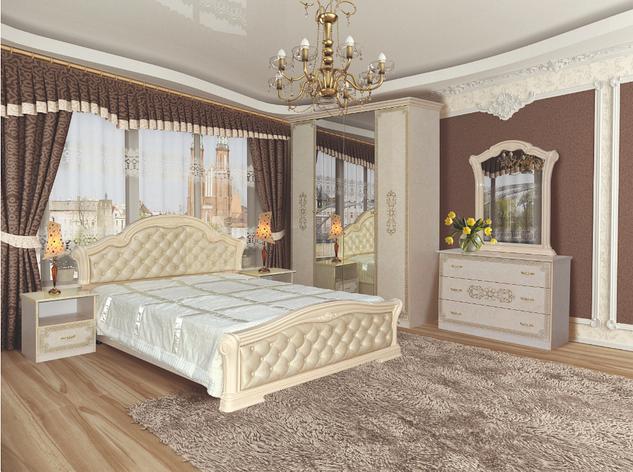 Спальня Венеция новая пино беж, фото 2
