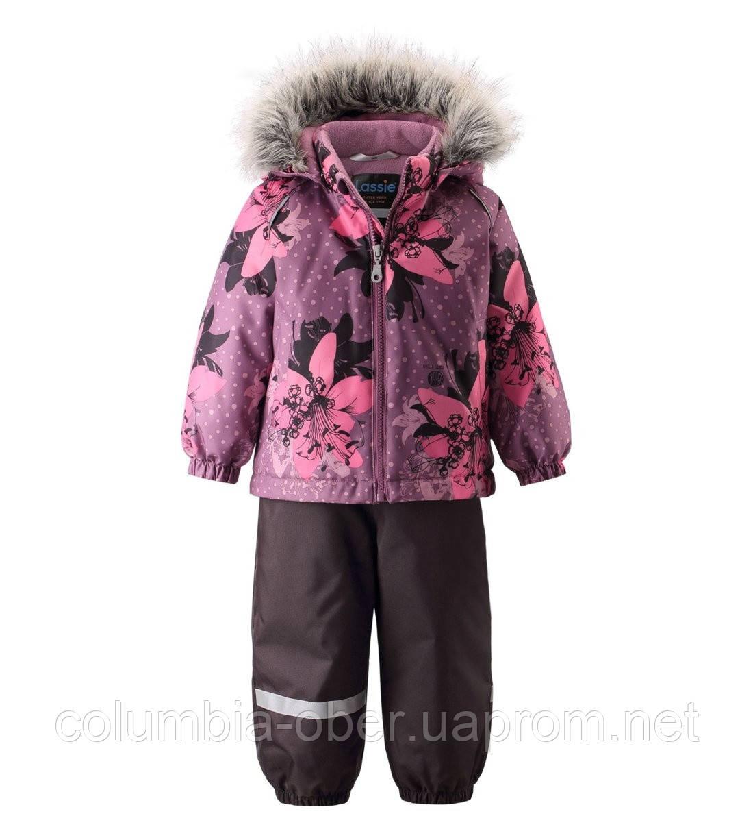 Зимний комплект для девочки Lassie by Reima Karol 713733.9-5191. Размеры 86 - 98.