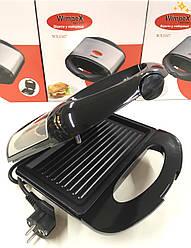 Сэндвичница-бутербродниця WIMPEX WX-1047 Чорна