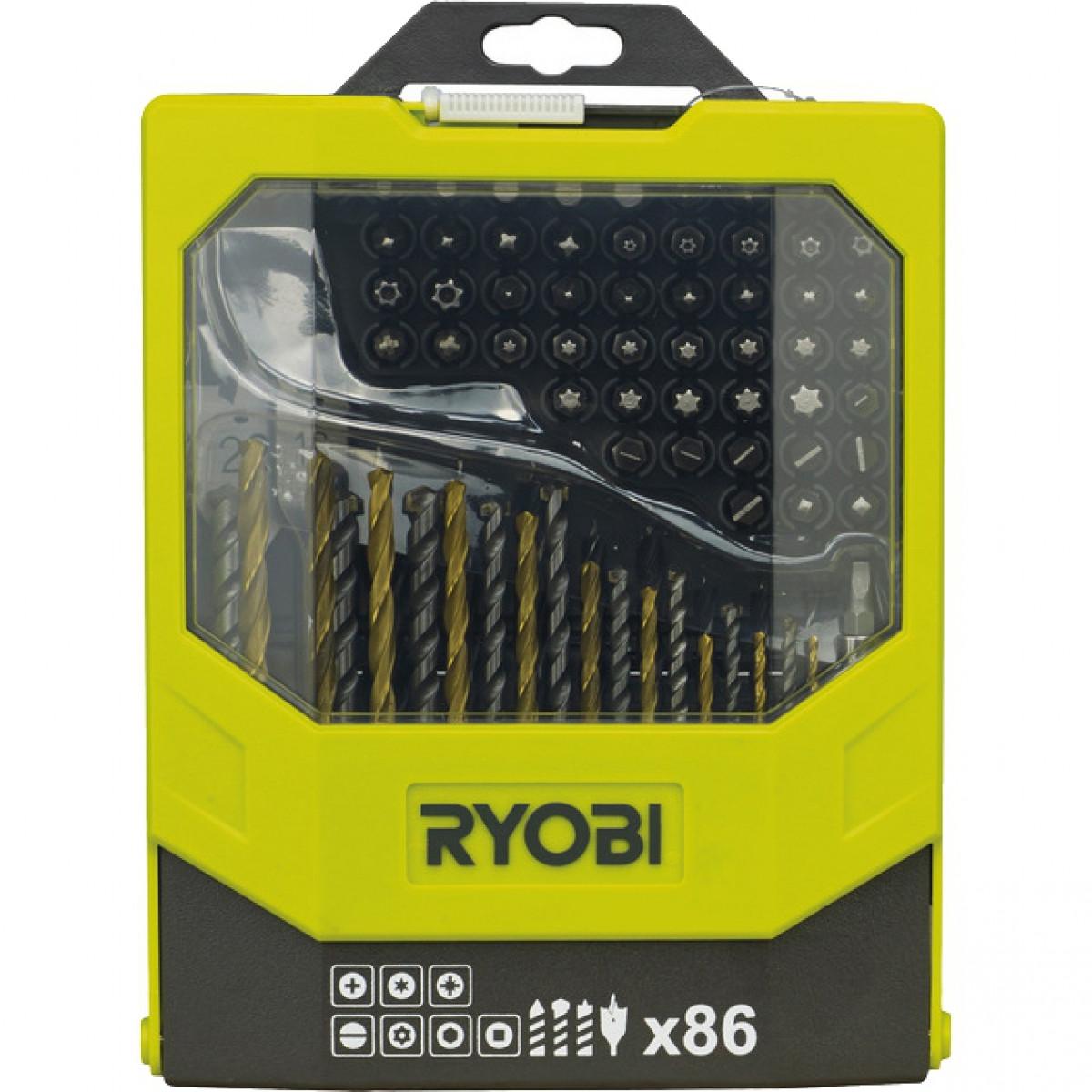 Набор Mixed (86 предметов) Ryobi RAK86MIX