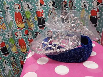 Корона діадема для дитини, нареченої, на свято 2 види