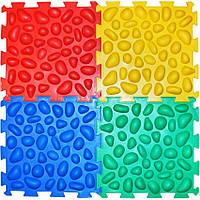 Ортопедический массажный коврик Ortek (Ортек) Пазлы (4 элемента) 5936