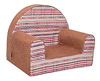 Мягкое детское кресло «Geometry», красный
