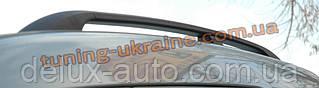 Рейлинги  (черные - Black) алюминиевые концевики ALM на  Volkswagen Caddy 2004-2010
