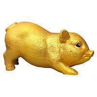 Мягкая игрушка антистресс Сквиши Squishy Свинка Золотая №56