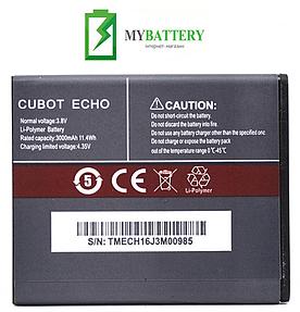 Оригинальный аккумулятор АКБ (Батарея) для Cubot Echo 3000mAh 3.8V