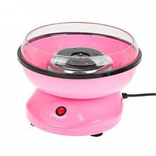 Аппарат машина для приготовления сладкой ваты VOLRO Cotton Candy mini Розовый (vol-335)