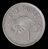 Монета Сейшельских островов 1 рупия 1995 г. Тритон Стромбида