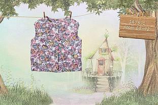 Детская жилетка для девочки Одежда для девочек 0-2 MONE Украина 1475-1