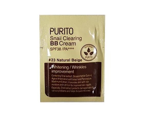 Purito Snail Clearing BB Cream Крем з екстрактом равлики