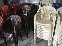 Стул пластиковый, кресло, фото 1