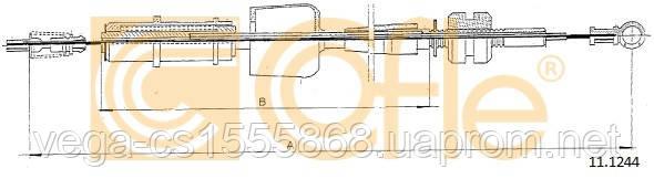Тросик газа LPR C0135A на Opel Astra / Опель Астра