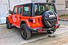 Силовой задний бампер с красными вставками Jeep Wrangler JL, фото 2