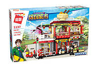 "Конструктор Brick(Qman) 1137""Ресторан"" (796 деталей), фото 1"