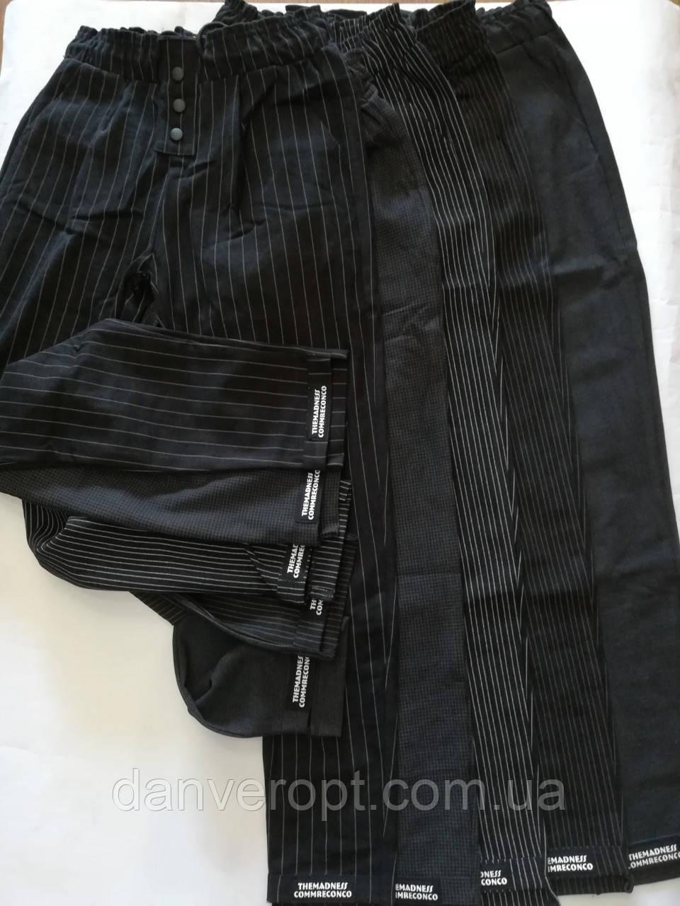 Штаны женские молодёжные стильные размер M-XL купить оптом со склада 7км Одесса