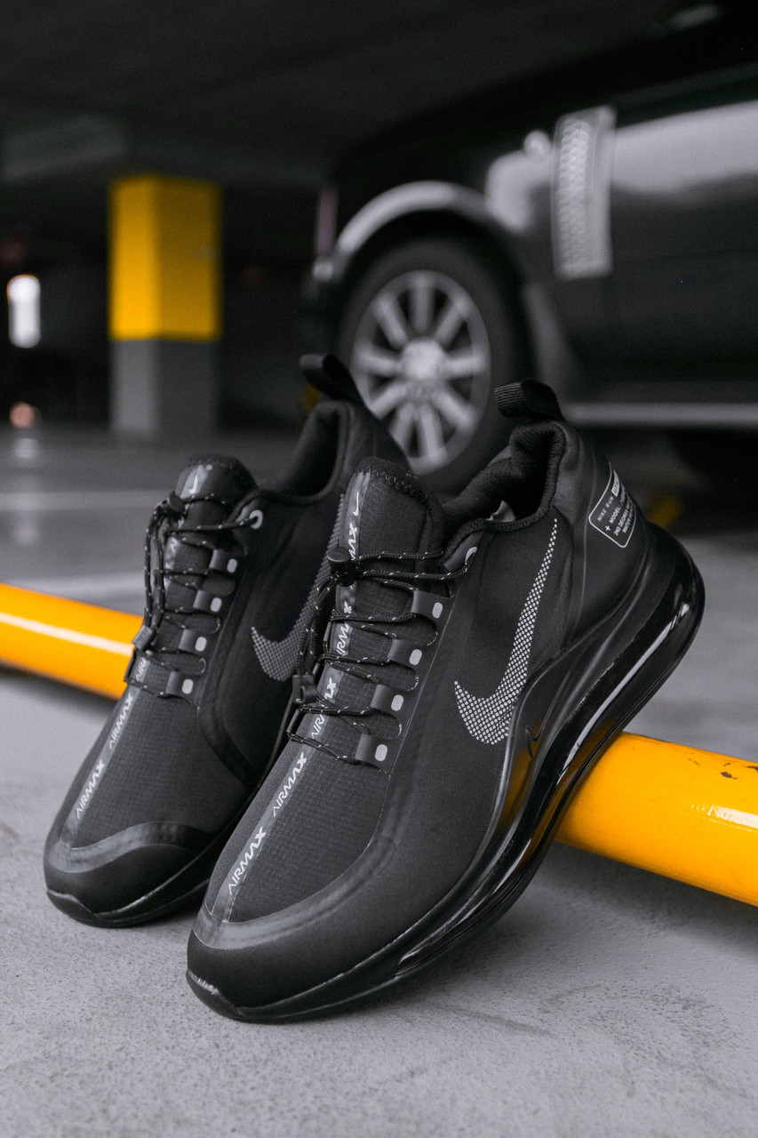 Мужские кроссовки Nike Air Max 720 Black, Реплика