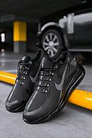 Мужские кроссовки Nike Air Max 720 Black, Реплика, фото 1
