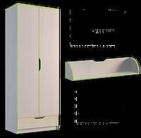 Шкаф платяной 800 Маттео 2Д 1Ш, фото 1