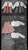 Комплект утепленный для девочек Setty Koop оптом, 1-5 лет.