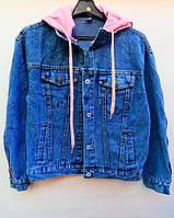 Куртка джинсовая женская (р.р. M-XL норма) Китай - от 3 штук