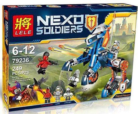 """Конструктор Lele 79236 Nexo Knights (аналог Лего)""""Механический конь"""" (249 деталей)"""