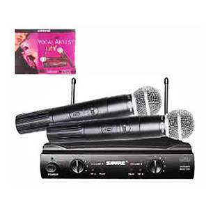Радиосистема Shure SM 58 Микрофоны 2 шт, фото 2