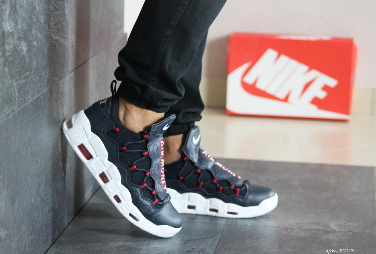 Осенние мужские кроссовки Nike Air More Money - найк аир море / кросівки чоловічі (Топ реплика ААА+)
