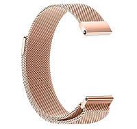 Миланский сетчатый ремешок для часов Huawei Watch GT 2 / GT Active 46mm - Rose Gold