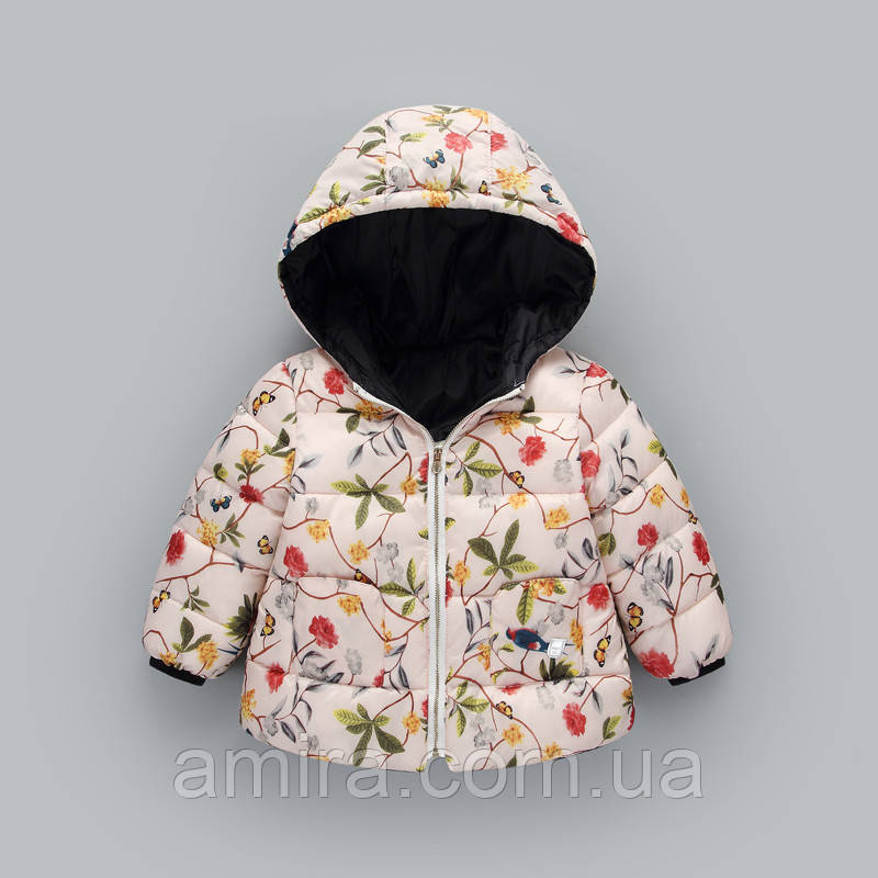 Демисезонная куртка для девочки Райский сад Berni