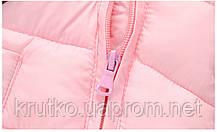 Демисезонный комбинезон для девочки Счастливый мишка, розовый Berni, фото 3