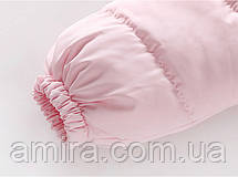 Демисезонный комбинезон для девочки Тедди, розовый Berni, фото 3