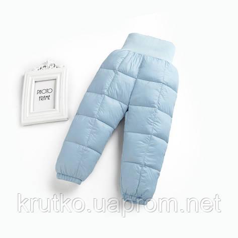 Демисезонные штаны для мальчика, голубой Berni, фото 2