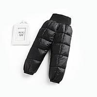 Демисезонные штаны для мальчика, черный Berni