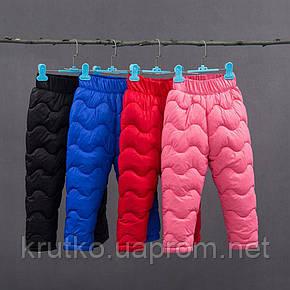 Утепленные штаны для мальчика, черный Berni, фото 2