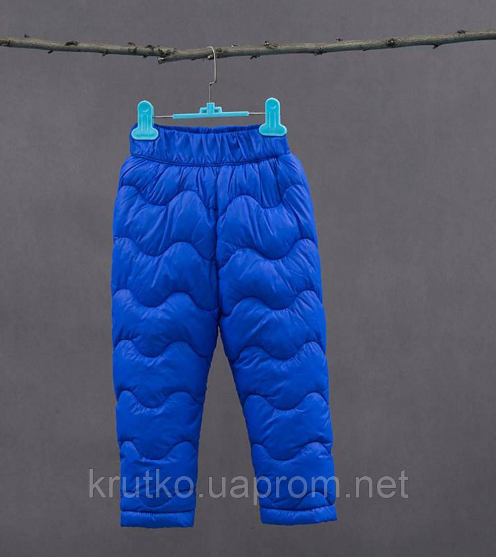 Утепленные штаны для мальчика, синий Berni
