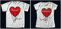 """Парные футболки """"Воздушные шары"""""""