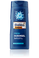 Гель для душа Balea Men Bath 3 в 1 FRESH, 300 мл