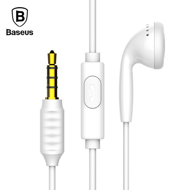 Проводная гарнитура Baseus Encok One-sided Wire Earphone H09 (stereo)