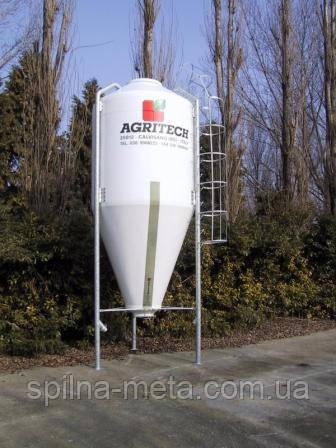 Силос стеклопластиковый SIV15 (9 т, 15 м3)  AGRITECH, Италия