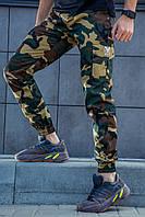 Штаны демисезонные мужские камуфляжные Rextim Woodland Camo