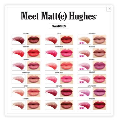 Рідка матова помада theBalm Meet Matte Hughes, Devoted Bright Red, 7.4 мл, фото 3