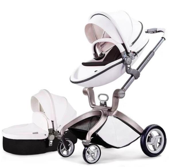 Универсальная коляска 2 в 1 Hot Mom Белая (hub_zocj63956)