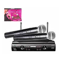 Радиосистема Shure SM 58 Микрофоны 2 шт