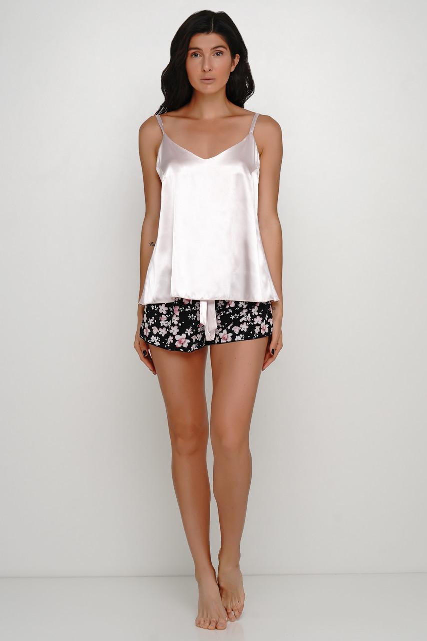 Женская пижама  майка и шорты 48-52 размер