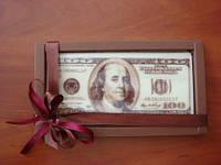Подарочный набор «Шоколадная валюта» - оригинальный подарок