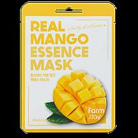 Восстанавливающая маска с экстрактом манго Farm Stay Real Essence Mask Mango