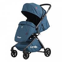 Коляска прогулочная CARRELLO Magia CRL-10401 Синяя + дождевик