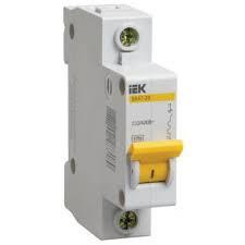 Автоматический выключатель ВА47-29М 1P 2,5A 4,5кА х-ка D ИЭК