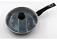 Сковорода с крышкой Benson BN-515 (24*5,5 см) с антипригарным покрытием